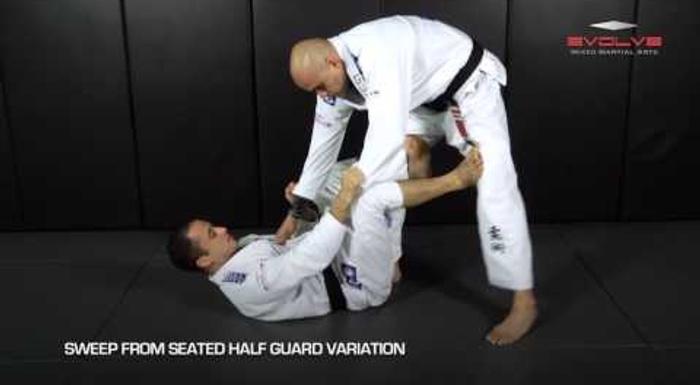 8 essential sweeps in Brazilian Jiu-Jitsu