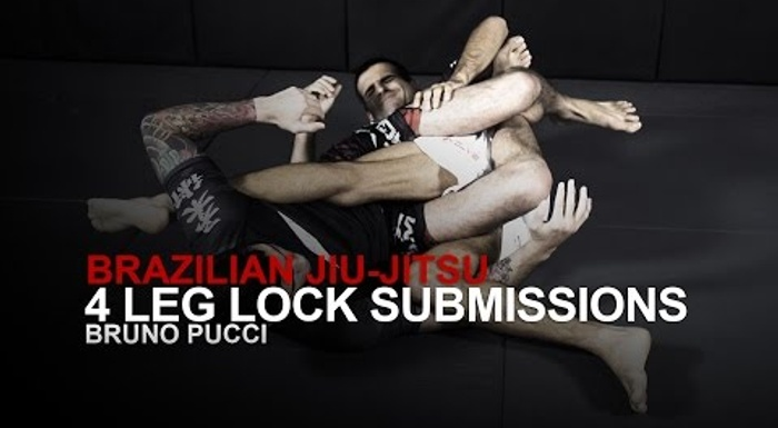 BJJ lesson: 4 leg lock attacks essential to your game