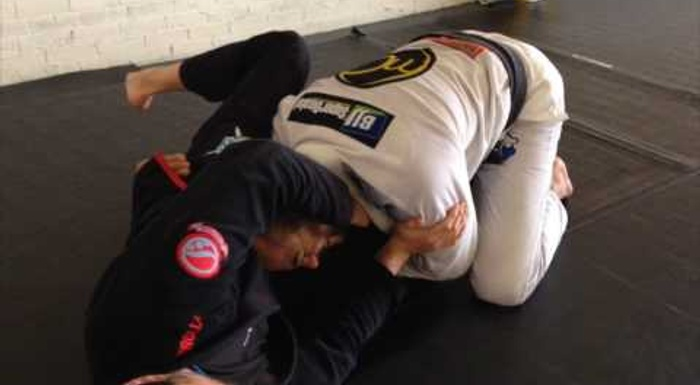BJJ: A sneaky choke for preventing the guard pass