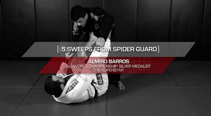 BJJ: 5 essential sweeps from the spider guard