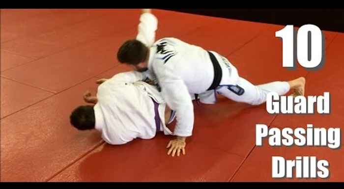 BJJ: 10 drills for sharpening your guard-passing skills