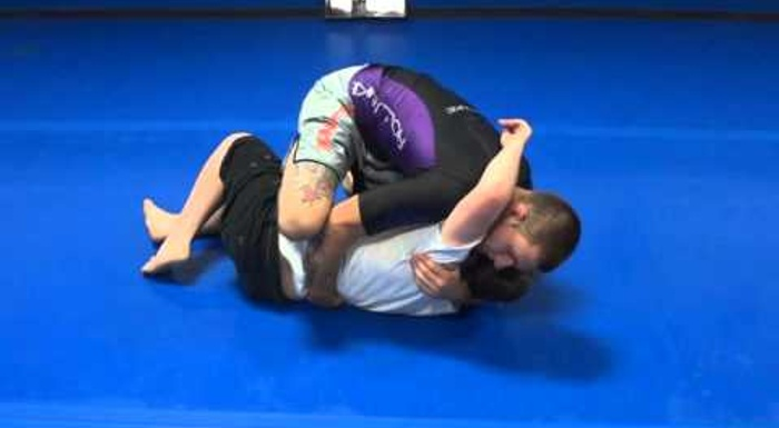 Brazilian Jiu-Jitsu lesson: Gordon Ryan teaches a back-take from the knee on belly