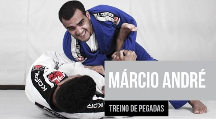 BJJ: Márcio André show the secrets of his grip training