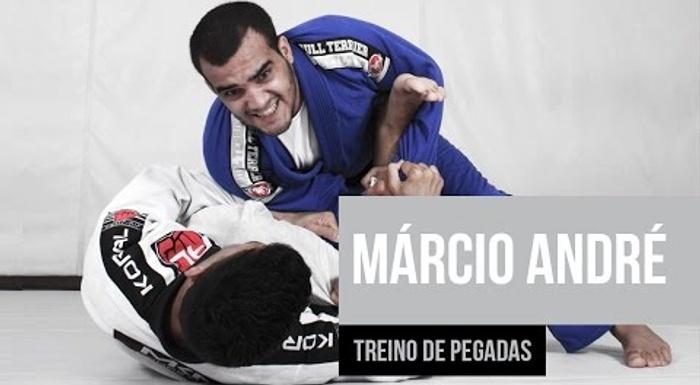 Márcio André mostra os segredos do seu treinamento de pegadas
