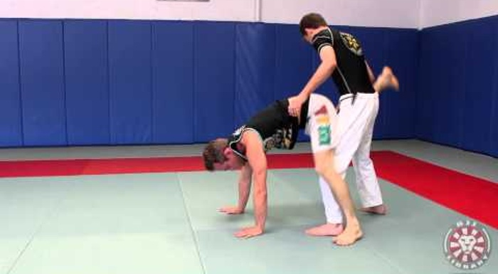 Brazilian Jiu-Jitsu lesson: Jeff Glover teaches how to sweep from donkey guard