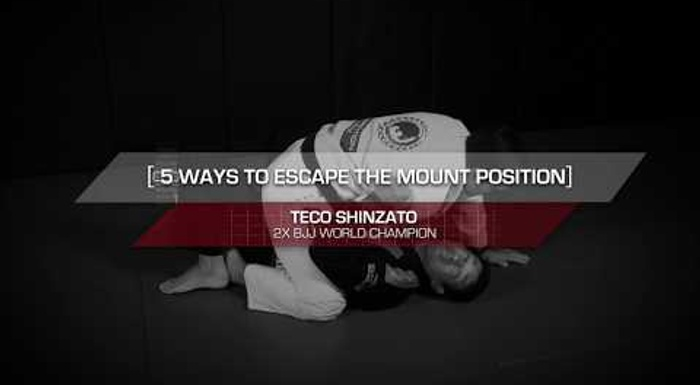 5 ways to escape the mount in BJJ