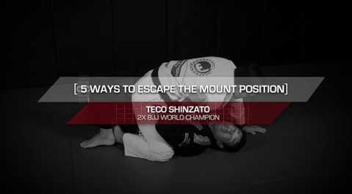 5 maneiras de escapar da montada no Jiu-Jitsu