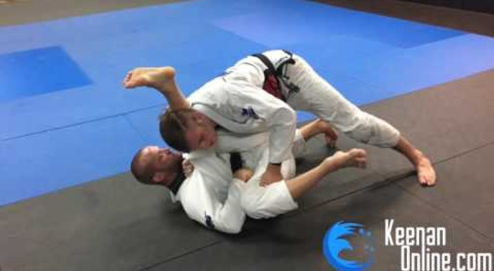 Keenan Cornelius shows one of BJJ's most basic and powerful guard passes