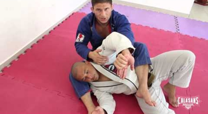 Brazilian Jiu-Jitsu lesson: Claudio Calasans teaches a wrist lock from the back position