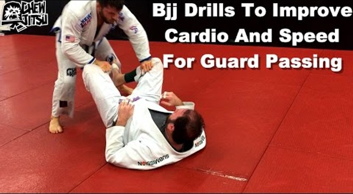 BJJ: Improve your physical condition and you guard-passing speed with these drills