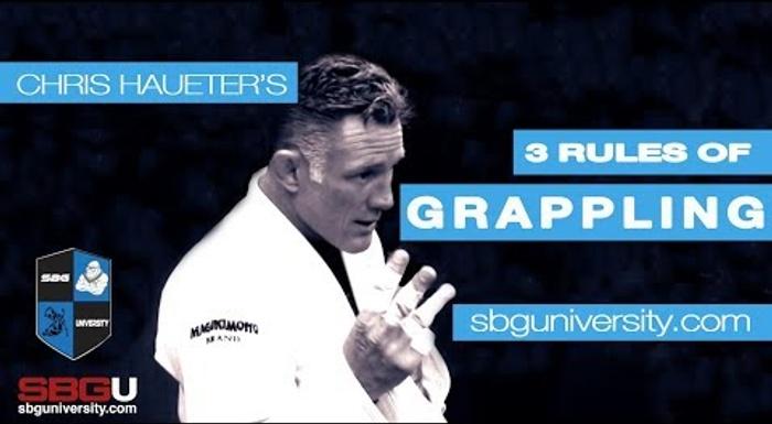 As três regras de ouro de Chris Haueter para luta agarrada