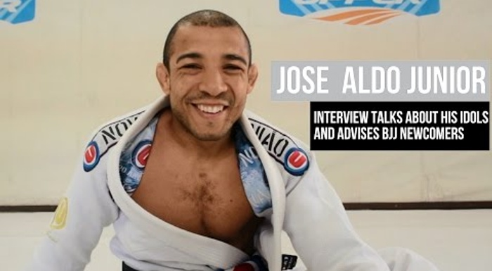 José Aldo talks about his idols and advises BJJ newcomers