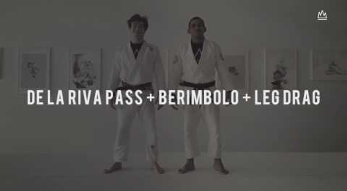 BJJ: Learn how to pass the de la Riva guard using the leg drag and the berimbolo
