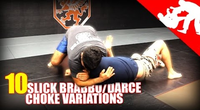 BJJ: 10 different Brabo and D'arce choke variations