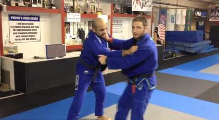 BJJ: Olympic medalist judoka Travis Stevens teaches how to break the posture in the standup game