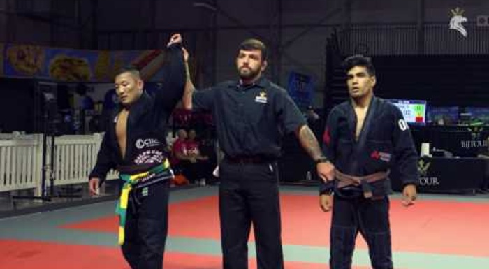 Watch the absolute brown final of the BJJ U.S. Open between Nicholas Greene and Manny Moreno