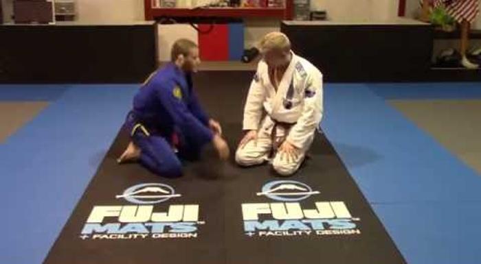 Brazilian Jiu-Jitsu lesson: Olympic Silver Medalist Travis Stevens teaches double leg defense with reverse triangle