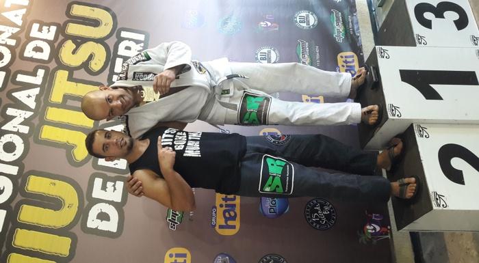 Instrutor Rogério Rodrigues Brown Belt