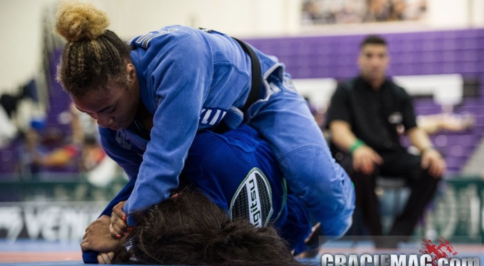 New York Open Jiu-Jitsu 2016: Aarae Alexander vs. Samantha Faulhaber at absolute final