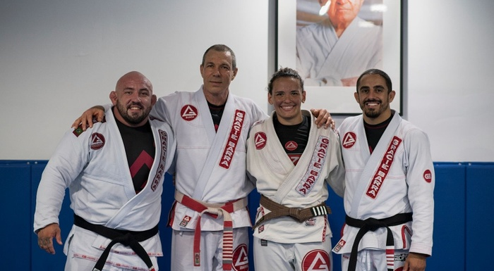 Livestream Class at the Gracie Barra Headquarters