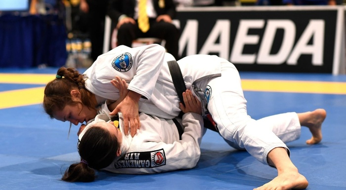 BJJ World Master 2016: Olga Lyashevska vs. Alexis Davis