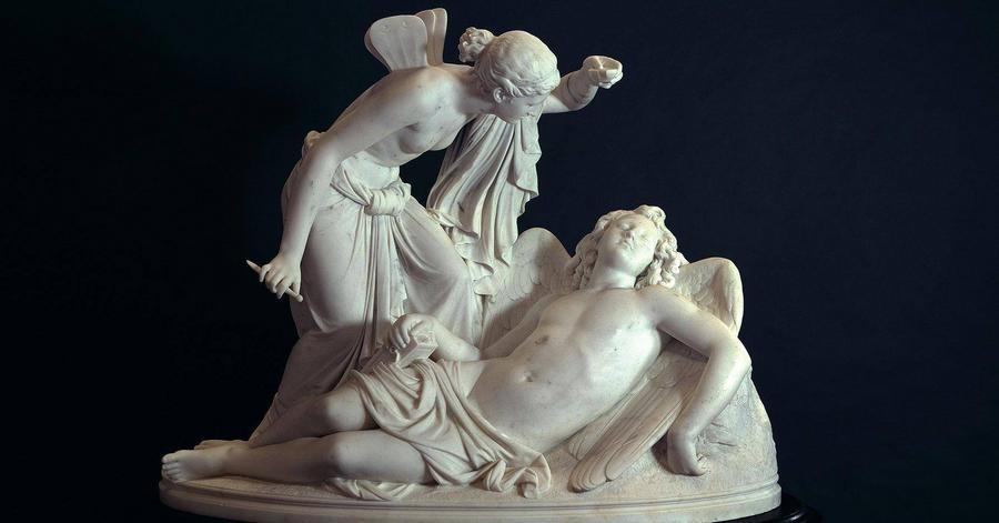 Cover Image - Reinhold Begas (1831 – 1911), Amor und Psyche, Skulptur / Marmor (1854-57) Staatliche Museen zu Berlin, Alte Nationalgalerie, / Andres Kilger