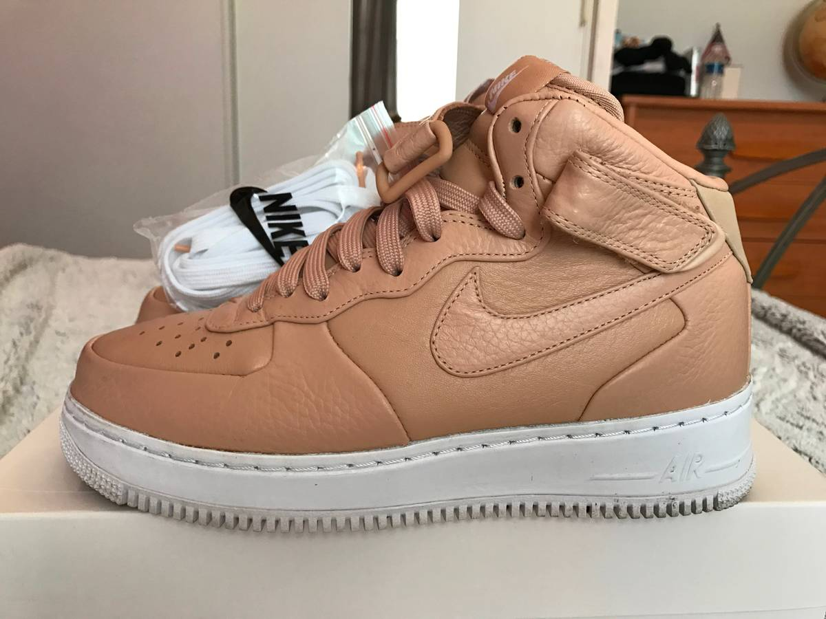 Nike Lab Air Force 1 MID Vachetta Tan - photo 1/4