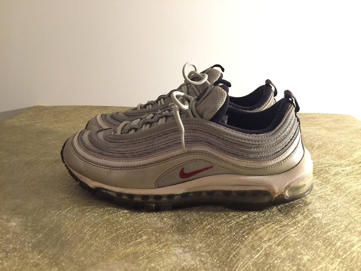 Cheap Nike Air Max 97 OG QS Silver Bullet Sneakers