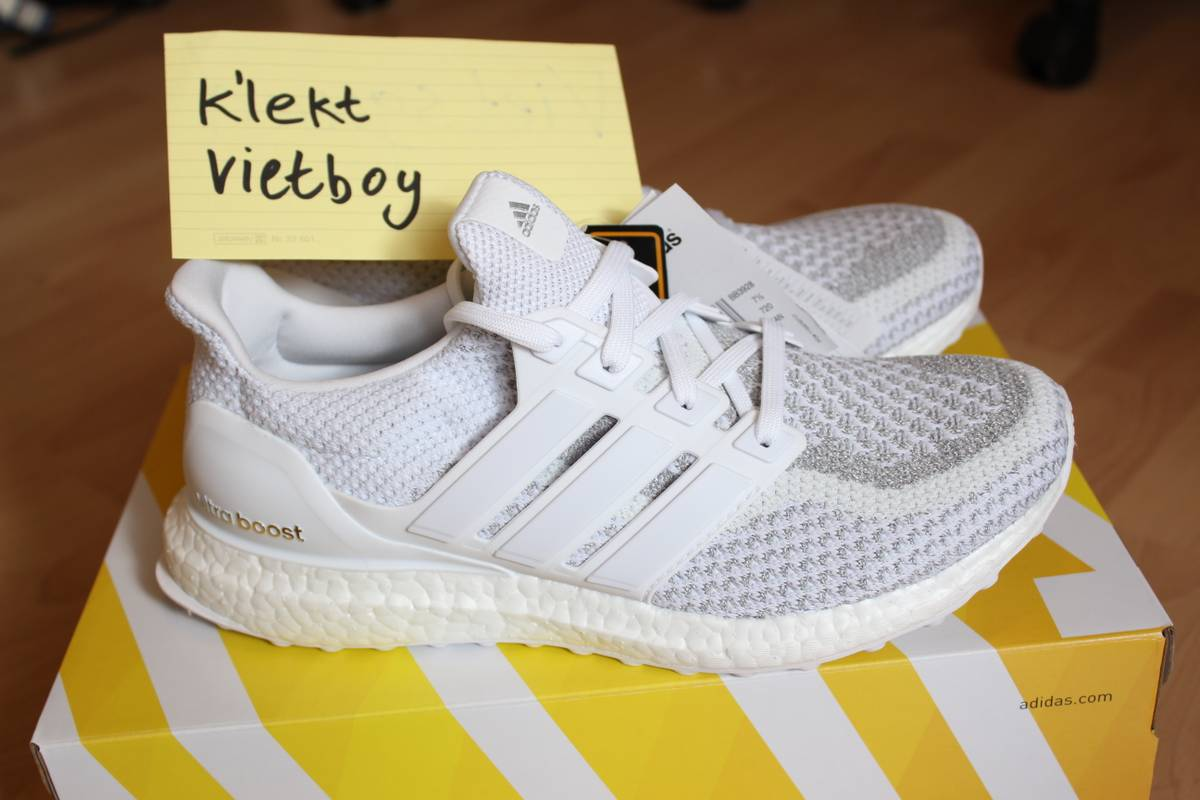 d10ca717bb14 ... adidas ultra boost ltd white 3m reflective eu41 us8 uk7.5