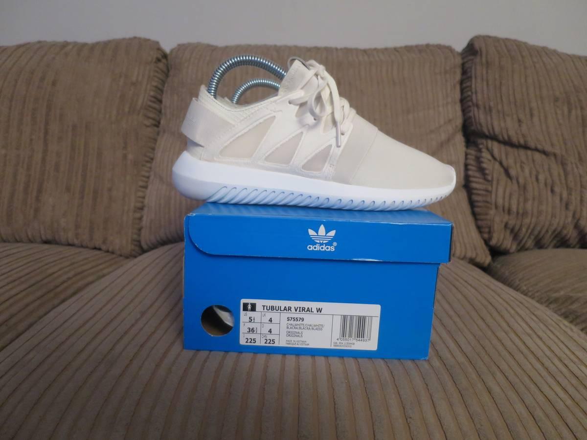 adidas Originals TUBULAR VIRAL Trainers chalk white Zalando