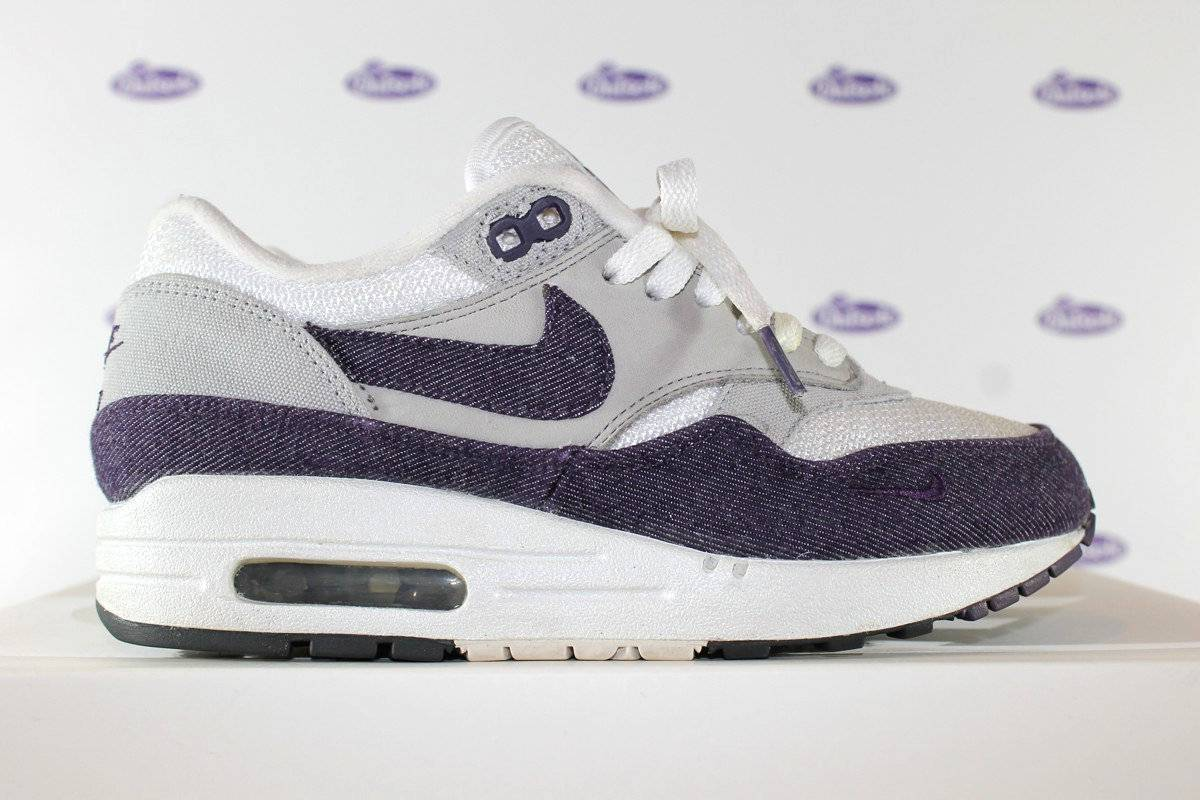 04082b6ece ... nike air max 1 patta purple denim . ...