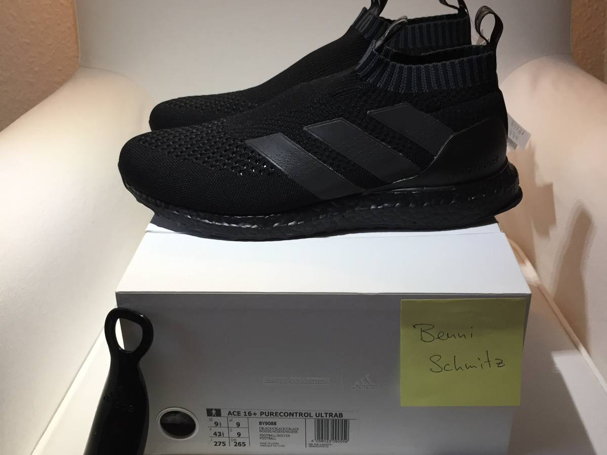 buy online 073bd 12db9 Adidas Ultra Boost 3.0 LTD Leather Cage Core Black Limited