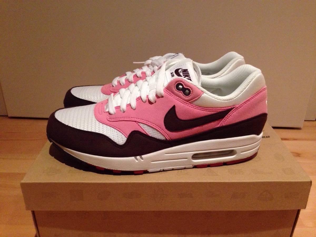 half off d1af0 d9c18 ... Nike Air Max 1 WMNS Pink Cooler Maragony - photo 14 Nike Air Max 1  Womens Pink Cooler Red Mahagony White Gym ...