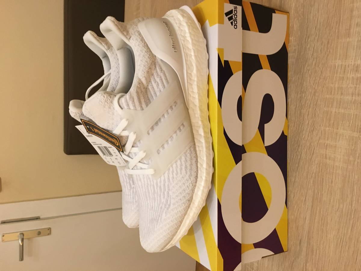 Adidas Ultra Boost 3.0 Reflective Clear Gray White BB 6059 Sz