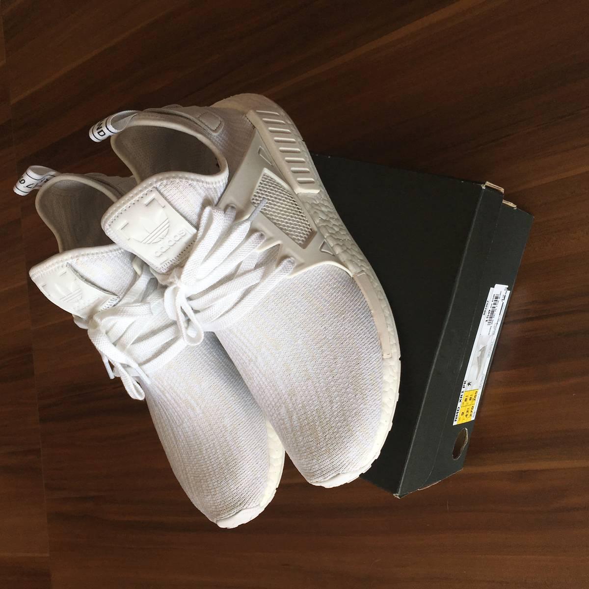 adidas NMD Xr1 White Duck Camo Primeknit Ba7233 Size 11