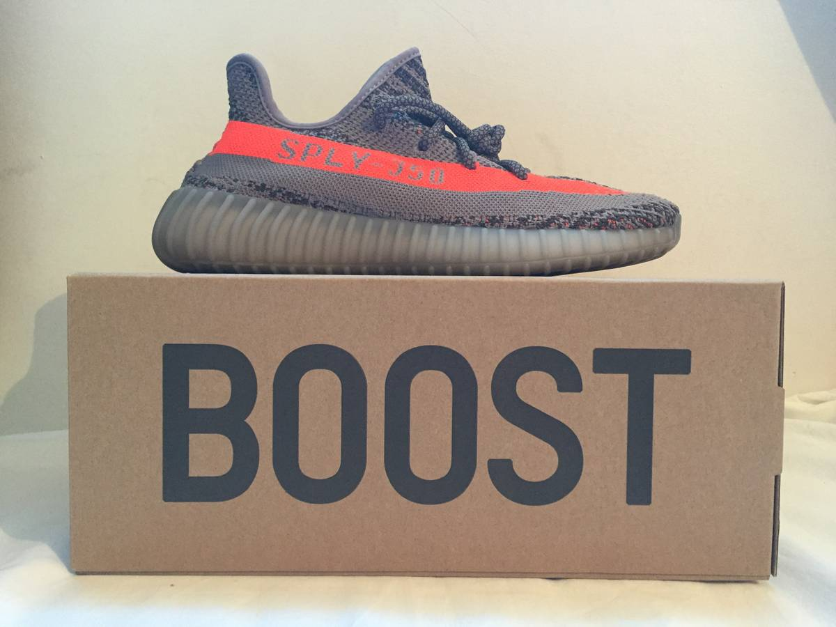 Original y 350 boost v2 beluga sply 350 orange stripe BB 1826 glow in