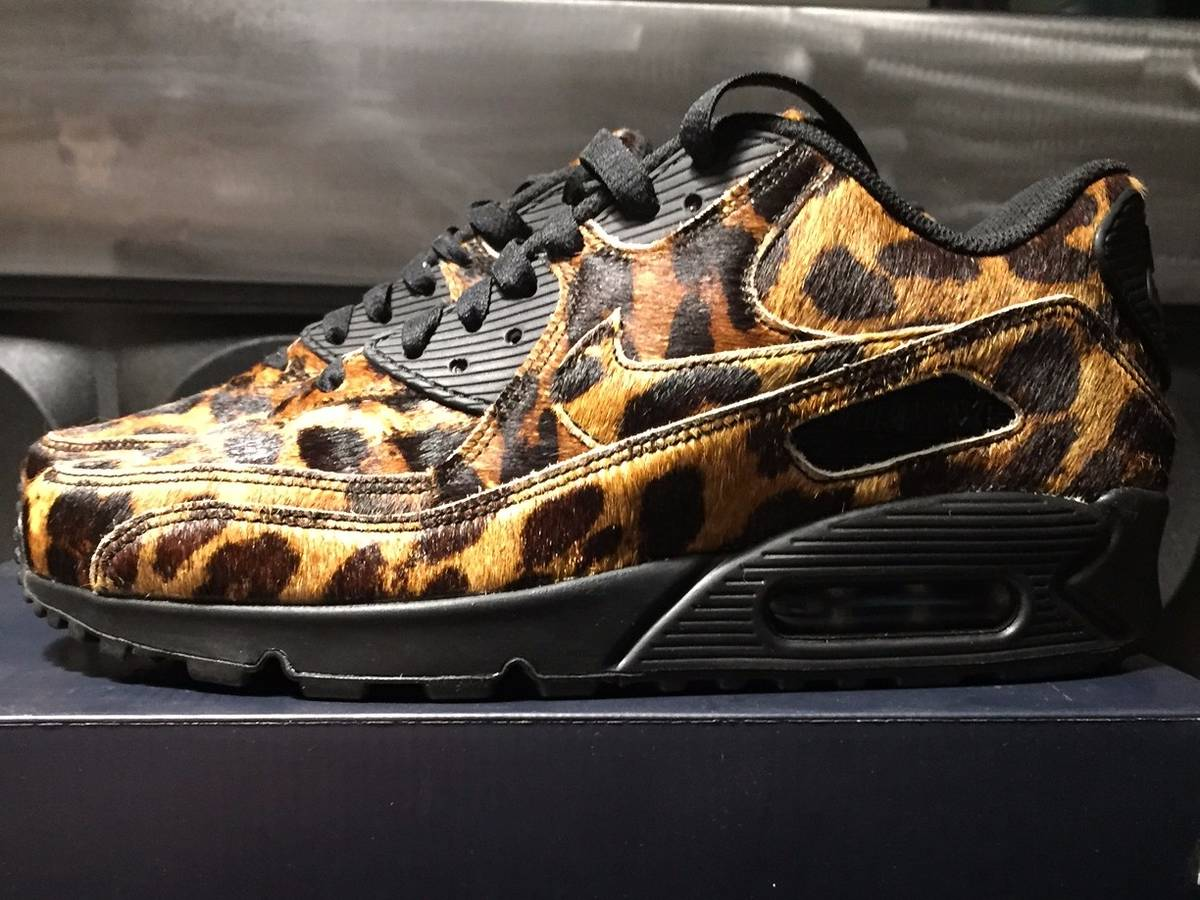 on sale 0a49e c4604 ... Nike air max 90 premium id  pony hair animal print  ...