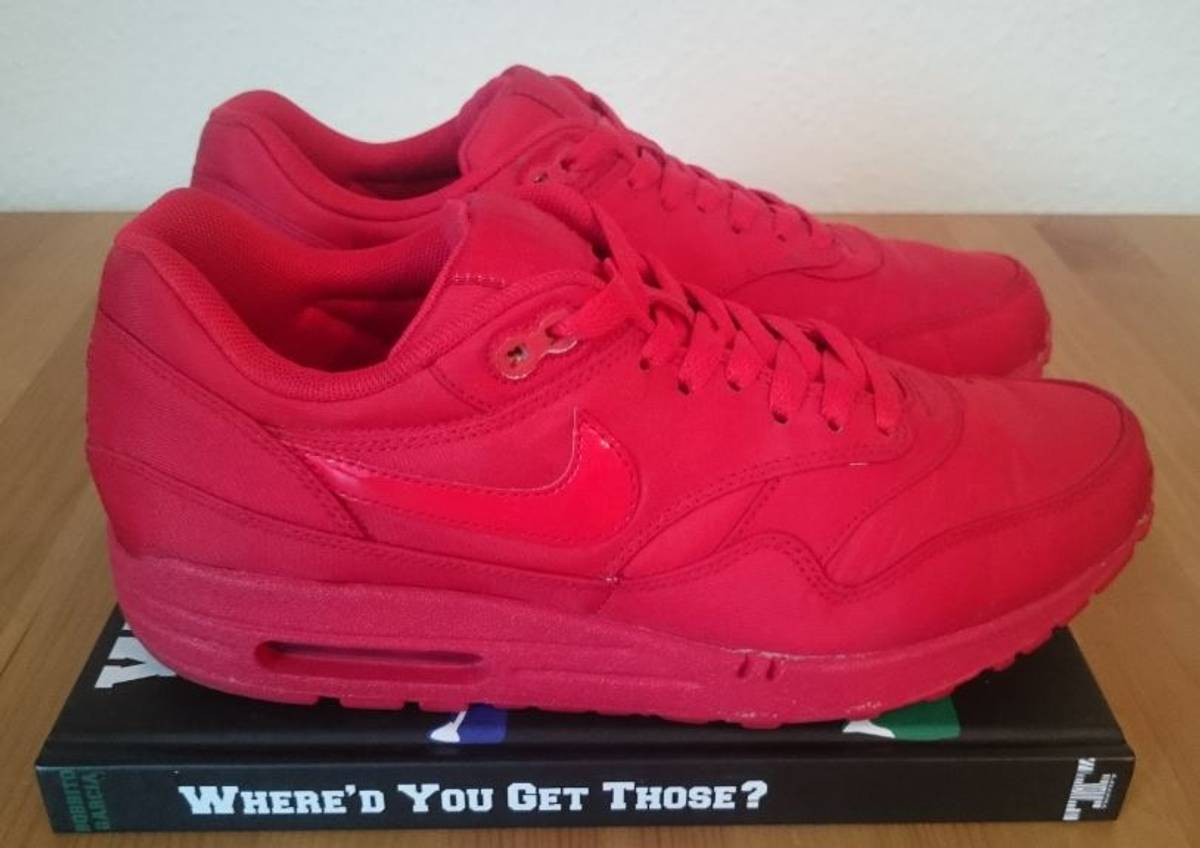 Nike Air Max 1 Attack Pack Red - photo 1/4