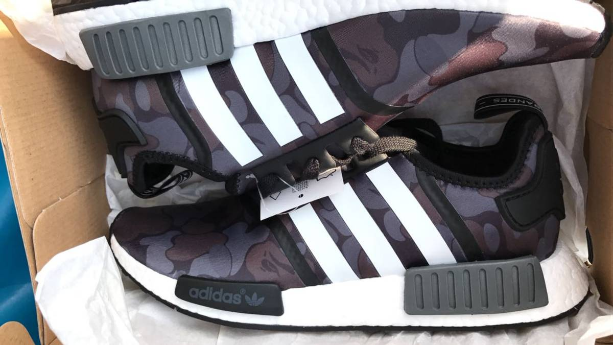 Cheap Adidas NMD R1 TRI COLOR \\ u0026 NMD XR1 CAMO ON