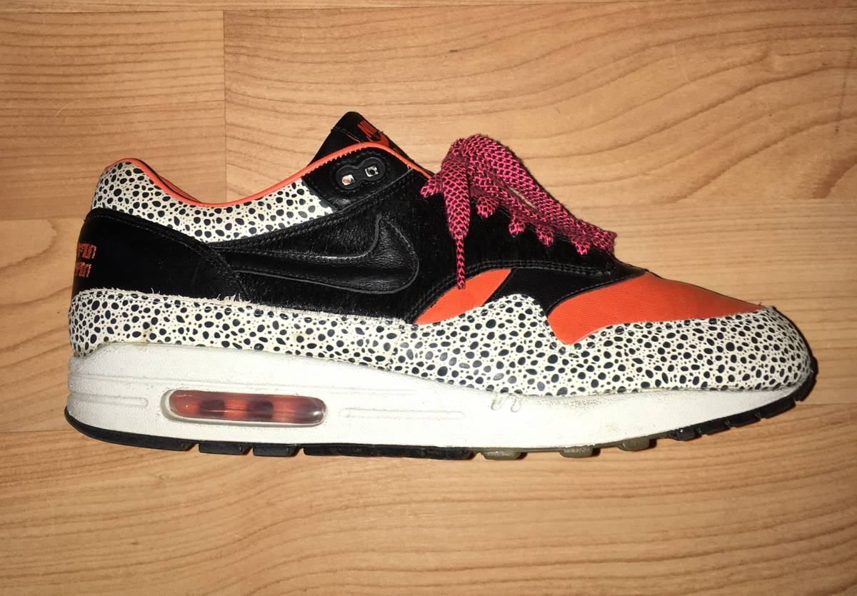 776afe6558 ... Nike Air Max 1 Keep Rippin Stop Slippin KRSS UK 11 US 12 EU 46 Safari  ...