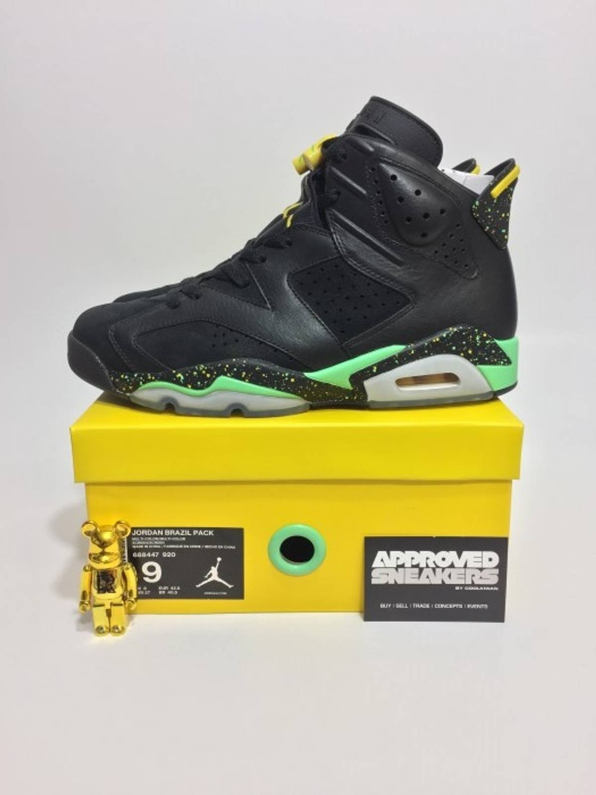 quality design ce2d5 40908 ... low cost air jordan retro 6 yellow bred 741a4 238f3