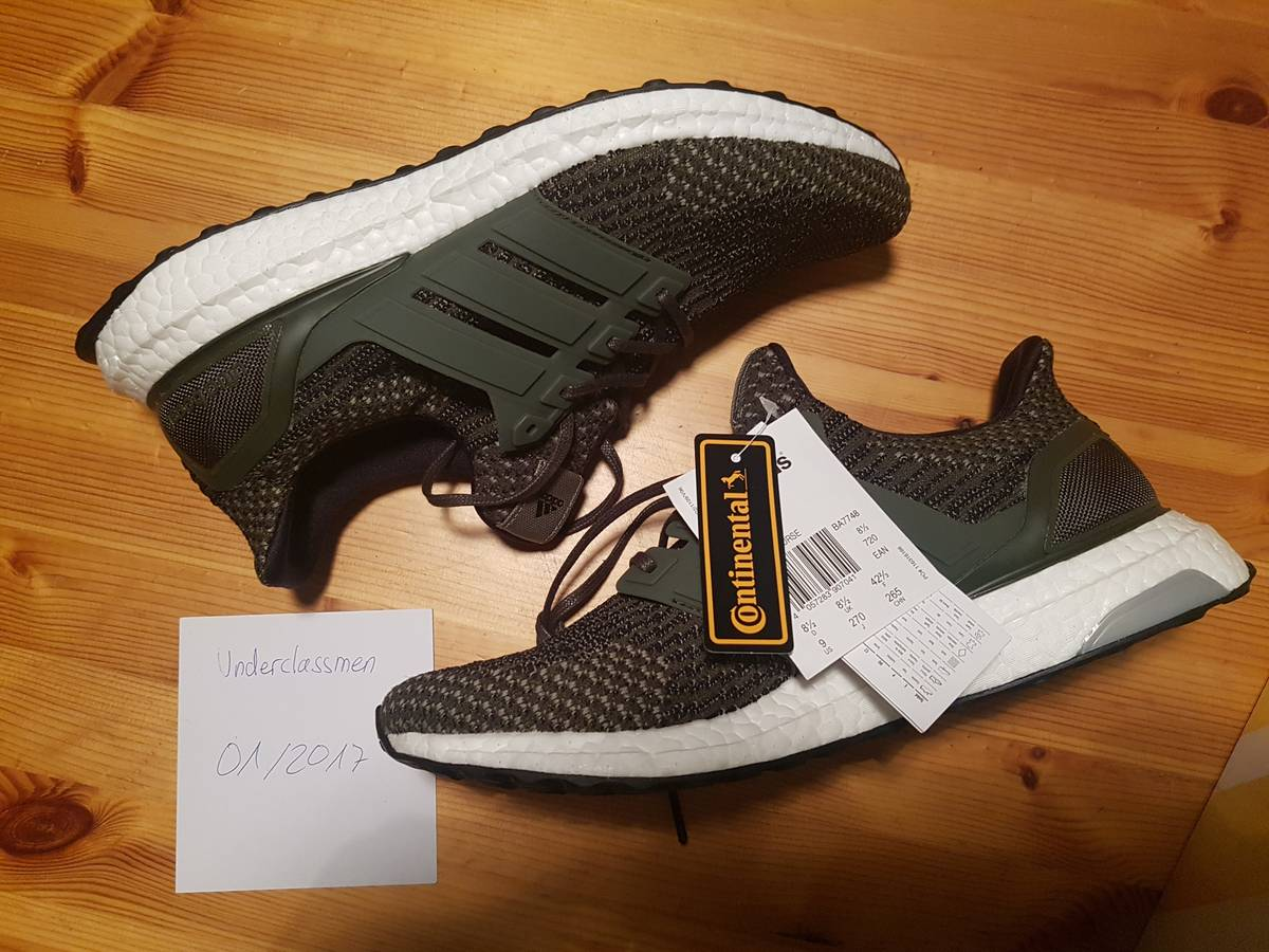 080706efac484 Adidas Ultra Boost men green black Shoes Valley