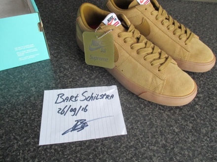 Nike x Supreme Blazer Brown UK 8 - photo 1/5