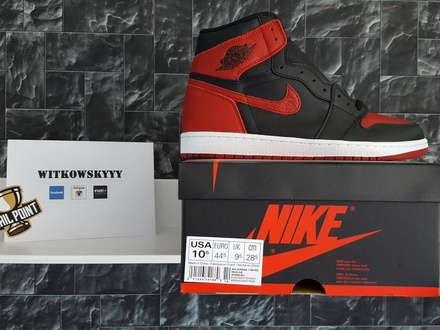 Air Jordan 1 Bred - photo 1/3
