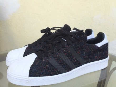 Adidas Superstar 80S Primeknit Multicolor US 9.5 new! Limited - photo 1/4