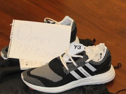 VNDS Y-3 Pureboost ZG Knit White black + Receipt - photo 1/3