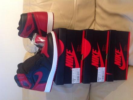 Air Jordan 1 Bred Banned - photo 1/8