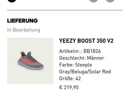 Adidas Yeezy 350 V2 EU42 US 8,5 - photo 1/3