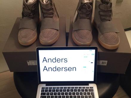 Adidas Yeezy 750 Grey Gum - photo 1/6