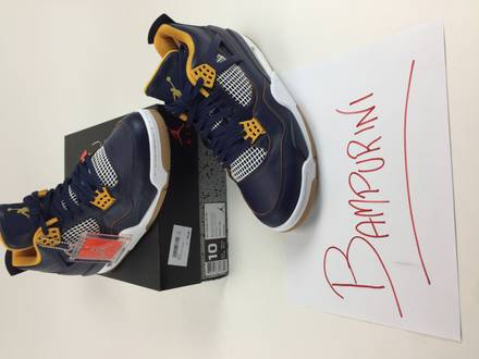 Jordan 4 DUNK FROM ABOVE US 10 DS - photo 1/4